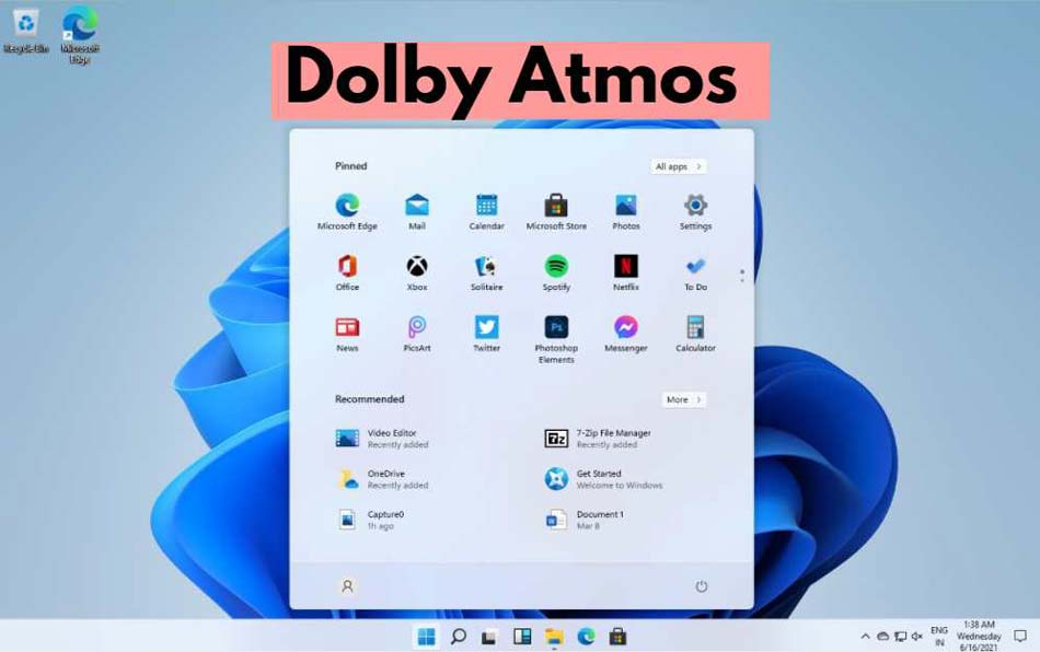 How to Install Dolby Atmos Home Theatre on Windows 11